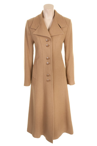 Click for larger image of: Camel Long Coat Style: 44441