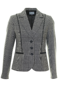 Click to see:Black and White Check Jacket Style: 44495