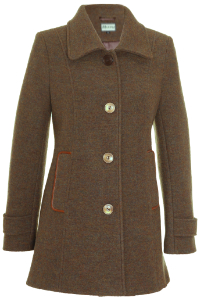 Click to see:Dark Camel Melange Coat Style: 44499