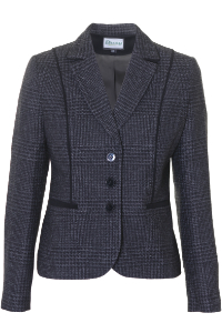 Click to see:Dark Grey Check Jacket Style: 44495