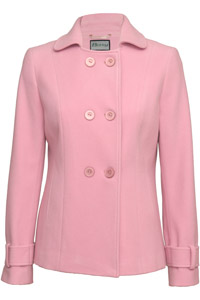 Click to see:Light Pink Jacket Coat Style: 44488