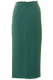 Mouseover to see larger image of: Jade Green Long Skirt Style: 44330
