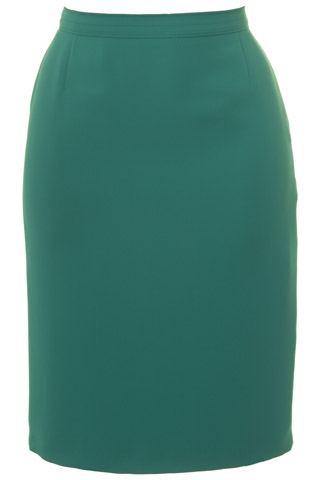 Click for larger image of: Jade Green Pencil Skirt Style: 44350