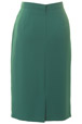 Mouseover to see larger image of: Jade Green Pencil Skirt Style: 44350