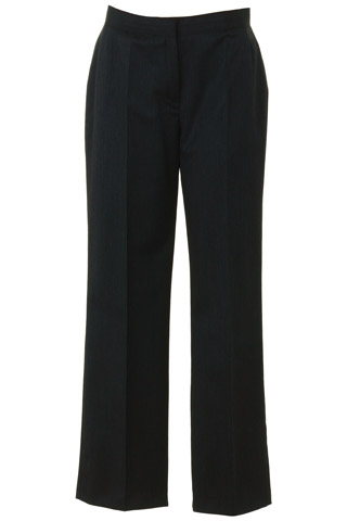 Click for larger image of: Dark Grey Wool Mix Trousers Style: 44443