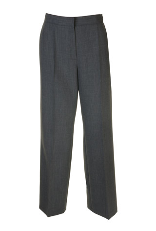 Click for larger image of: Grey Wool Mix Trousers Style: 44443